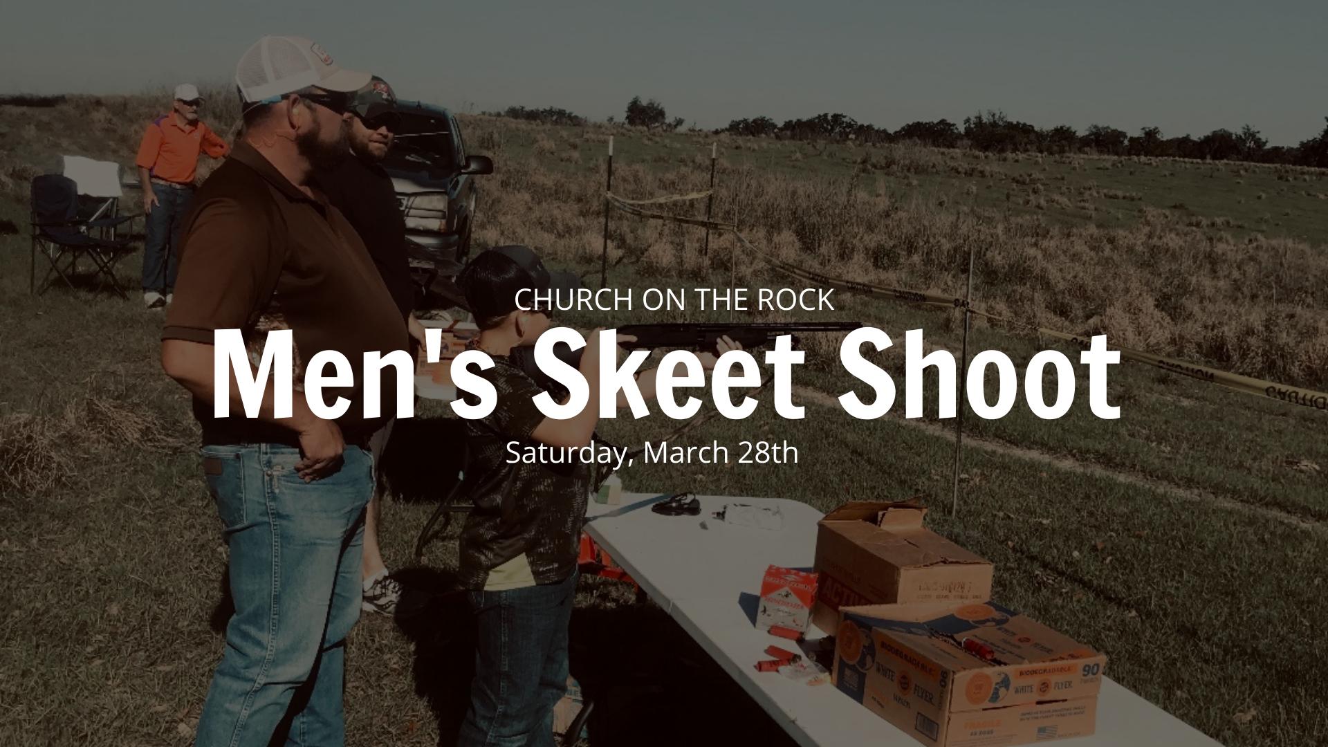 Men's Skeet shoot